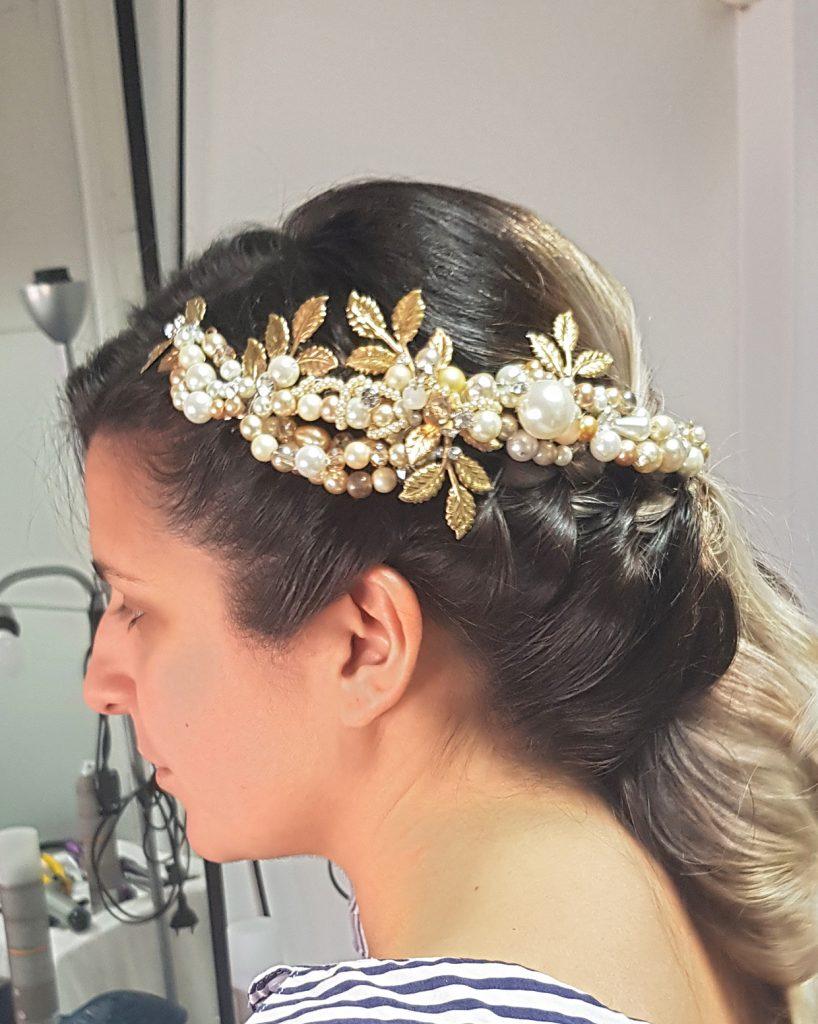 Peinados. Tocado de Novia Peluquería y Salón de belleza IsaGodí