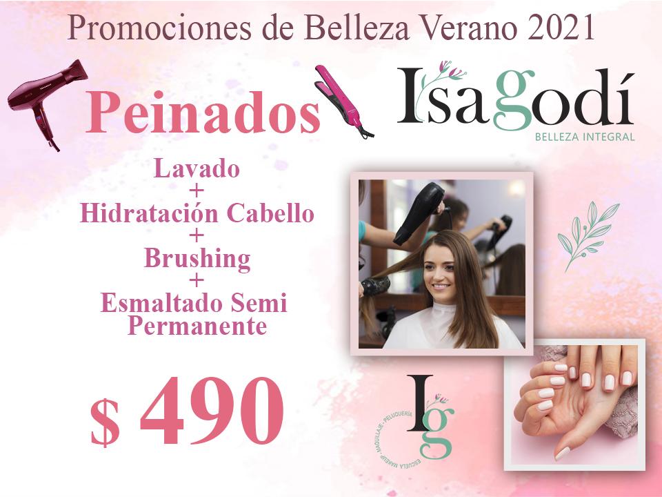 Oferta Verano 2021 en peinados