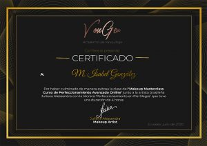 Certificado Juliana Alessandra