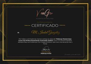 Certificado Adriana Díaz