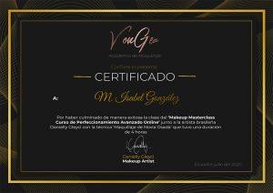 Certificado Danielly Gleyci