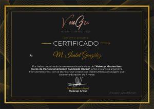 Certificado Flor Domenichetti