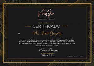Certificado Karina Roussenq