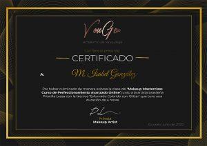 Certificado Priscilla Lessa