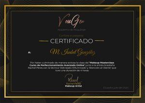 Certificado Rachel Peres